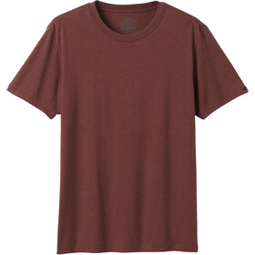 Prana Rundhals T-Shirt Herren maple heather